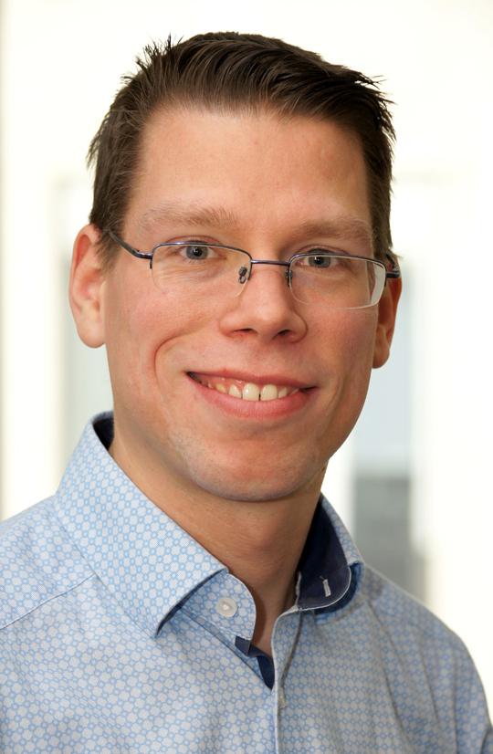 Dr. Carsten Fritz, Bereich Berufskankheiten in der Abteilung Versicherung und Leistungen der DGUV Foto: Jannik Becker/DGUV